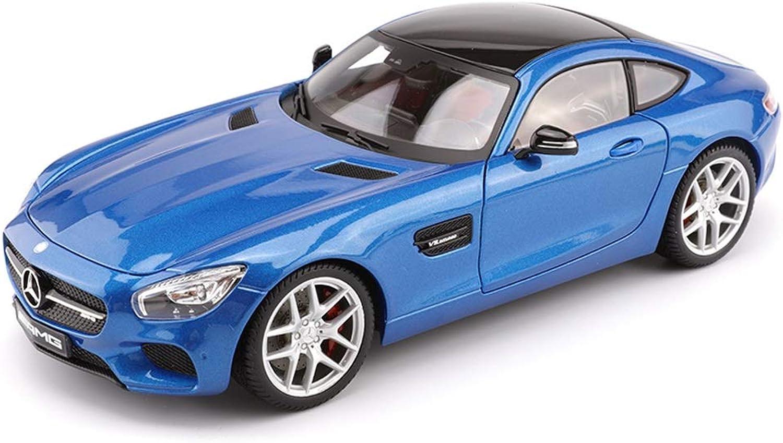 estar en gran demanda HTDZDX Modelo de Coche 1 18 Mercedes Benz Benz Benz AMG GT simulación de aleación de fundición a presión Juguetes Adornos colección de Coches Deportivos Joyas 25x11.6x7.6 CM  deportes calientes
