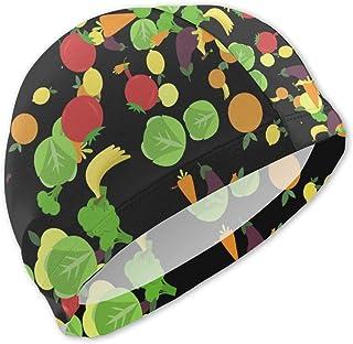 Gorros de baño de Verduras y Frutas para niños Gorro de baño para niños