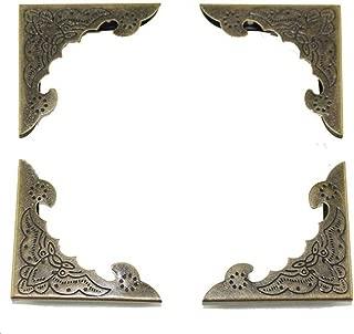 Haidong 30Pcs 40mm Side Length Notebook Protection Corner Decorative Corner Book Corner Album Corner Guard Inside 4mm