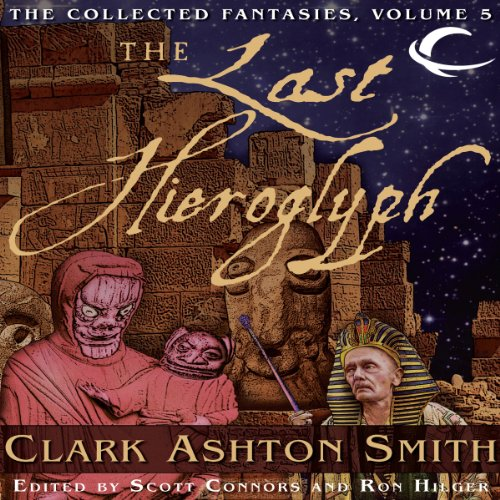 The Last Hieroglyph audiobook cover art