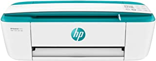 HP DeskJet 3762 Stampante Multifunzione a Getto di Inchiostro, Scanner e Fotocopiatrice, Wi-Fi, Wi-Fi Direct, 2 Mesi di HP Instant Ink Inclusi, App HP Smart, Bianco/Verde Aqua