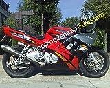F3 Fairings Free Custom Red Black For CBR600F3 CBR600 1995 1996 CBR 600 F3 95 96 Bodywork Cowling kit (Injection molding)