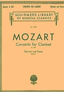 MOZART - Concierto para Clarinete (K.622) para Clarinete en Sib y Piano (Simon)