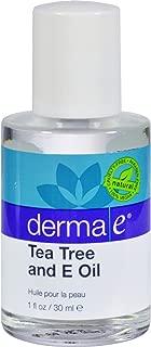DERMA E Tea Tree & Vitamin E Oil, 1oz