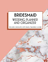 BridesMaid Wedding Planner and Organizer: Bridal Party Tasks and Party Planner for Things to do, Important Dates, Trackers & More: Bridesmaid Gift