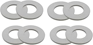 44SPORT Olympic Fractional Plates -Set of 1/2 lb Weights (8 Plates. Total Weight: 4lbs)