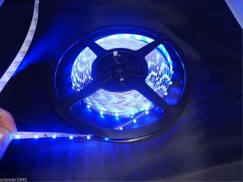 Over item handling ☆ Blue New Orleans Mall Cabinet Counter LED Lighting Tape 3528 Meters SMD 5 Strip