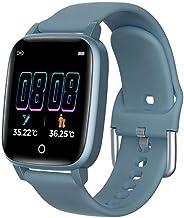 Slimme horloges met slaapmonitor, stopwatch, stappenteller, fitnesstracker, hartslagmeter, smartwatch voor mannen en vrouw...