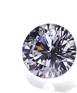 Alone Moon 1000pcs 1.0mm Round Whtie sparkling loose Cubic Zirconia Resplendent Grade Hearts and arrows cut for Ring/Necklace/Earrings inlay and DIY hand-made,Vacuum packaging