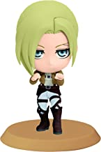 Banpresto Attack on Titan 2.4-Inch Annie Chibi-Kyun-Chara Figure, Training Version
