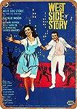 Hunnry West Side Story Poster Metall Blechschilder Retro