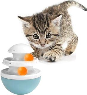 Wodondog Gato Vaso de Juguete, 2 Capas Juegos Juguete para Gato Perro Mascotas