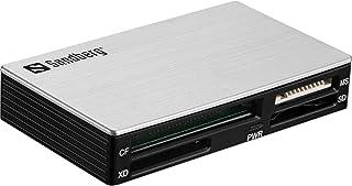 Sandberg 133-73 USB 3.0 Multi Card Reader aluminium/zwart