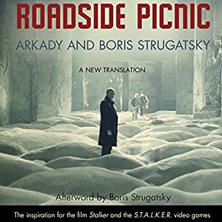 Roadside Picnic                   Written by:                                                                                                                                 Arkady Strugatsky,                                                                                        Boris Strugatsky,                                                                                        Olena Bormashenko (translator)                               Narrated by:                                                                                                                                 Robert Forster                      Length: 7 hrs and 8 mins     24 ratings     Overall 4.3