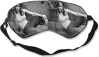 アイマスク Jessica Alba 睡眠対策、いびき軽減、眠りと目の疲れ、スーパーソフト、超滑らかな絹のような通気性