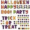 ハロウィン ハロウィーン☆式ウォールステッカー halloween かぼちゃ おばけ ランタン おしゃれ 大人 trick or treat お菓子 90×90cm 文字 フォント かぼちゃ 016967