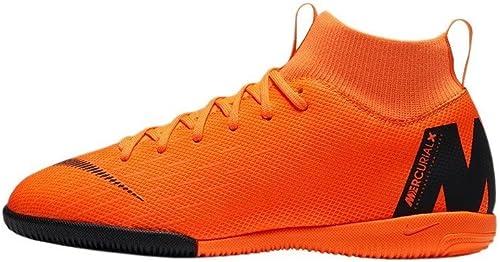 Nike Jr Superflyx 6 Academy GS IC, Hauszapatos de Deporte Unisex Adulto, (Total naranja negro-T 810), 38.5 EU