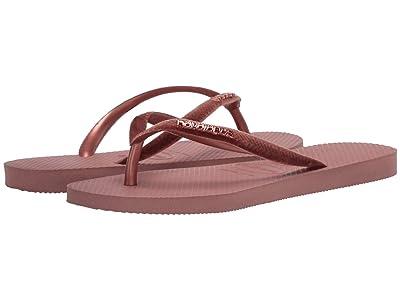 Havaianas Slim Velvet Flip-Flops (Crocus Rose) Women