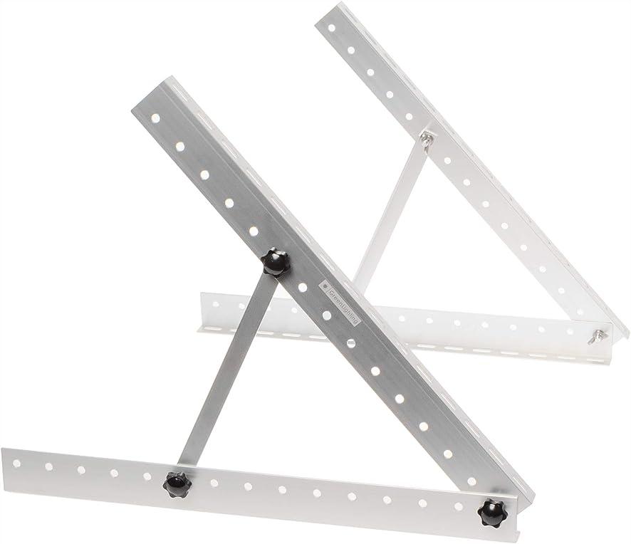 GreenLighting Aluminum Solar Panel Mounting Rack Bracket | 22