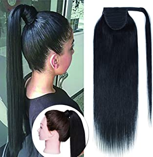 Best real hair ponytail wrap Reviews