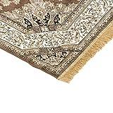 Teppich Klassisch, Keshan-Teppich, Rubinrot, 317 Braun Cm.200x290 braun - 2