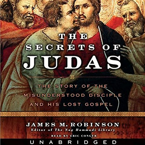 The Secrets of Judas audiobook cover art