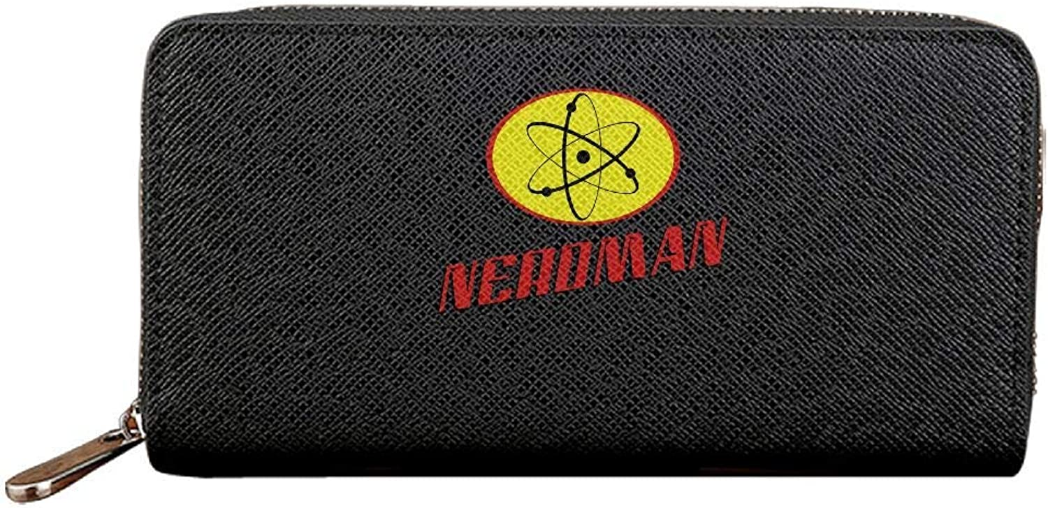 Gthtyju Nerdman 3c damen Long Long Long Zipper Wallets PU Leather Lady Card Purse Travel Holder Coin B07MX1X8ZT 3b2f11