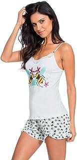 Short Doll Alça Malha Bee