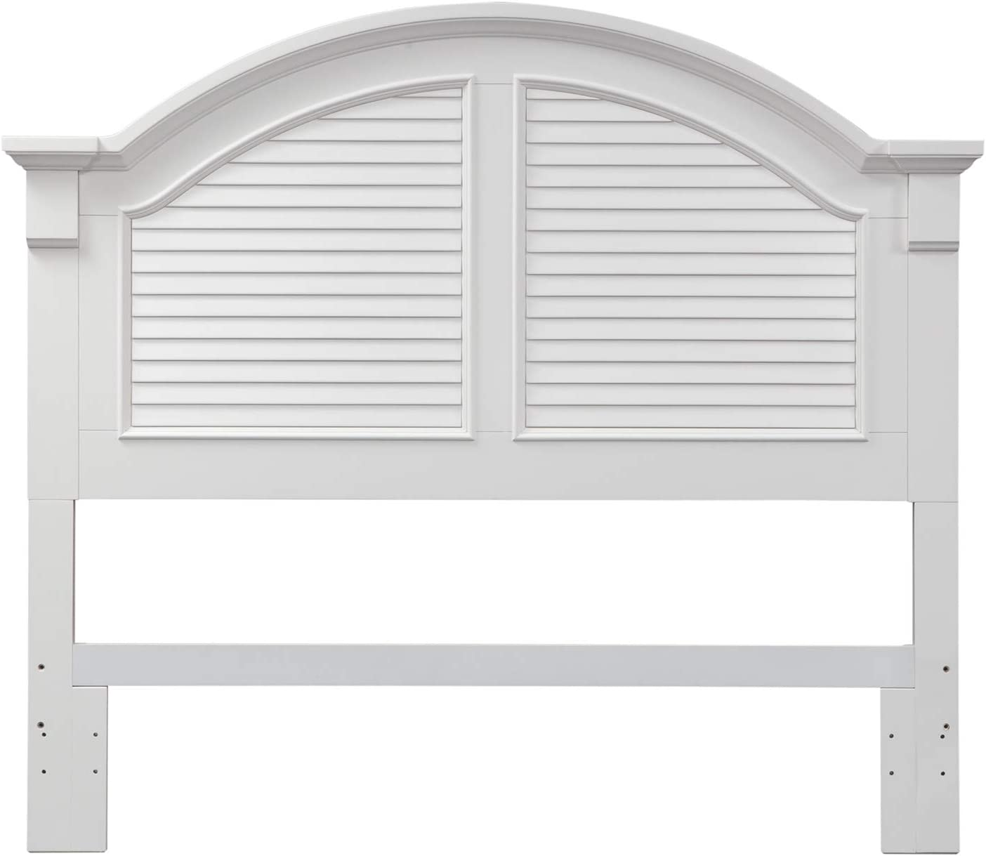 Liberty Furniture Industries Summer House King Panel Headboard, Oyster White