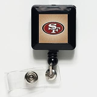 WinCraft NFL San Francisco 49ers 14141021 Retractable Badge Holder