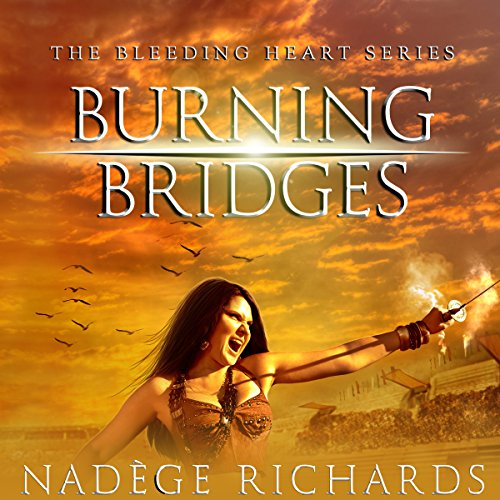 Burning Bridges audiobook cover art