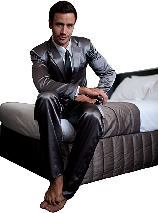 Silk Suit Pajamas ZBoss Inc The Official Mens Legendary Suitjamas