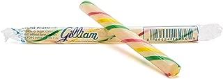 Gilliam Old Fashioned Hard Candy Tutti Frutti Sticks: 10 Count (Individually Wrapped) (Tutti Frutti)