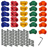 Gatehouse Quality Products 27 Rock Climbing Holds for Kids. Climbing Holds for Kids Outdoor. Rock Wall Holds, Rock Climbing Wall for Kids Outdoor. Climbing Wall Holds, Rock Wall Holds