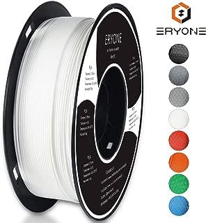 ERYONE White PLA 3D Printer Filament 1.75mm for 3D Printer / 3D Pen 1kg (2.2LBS)/Spool