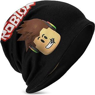 Ro-b-lox Character Head Niños Casual Beanie Hat Invierno Warm Knit Ski Beanies Skull Cap