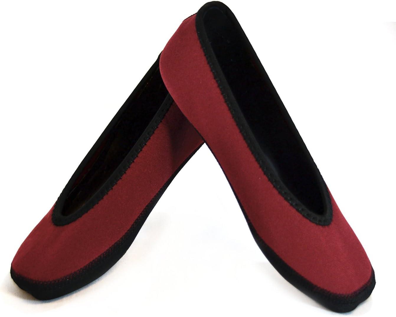 Nufoot Ballet Flats Women's Shoes, Foldable  Flexible Flats, Sl