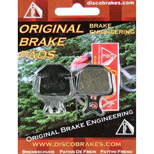 F1 Performance Disc Brake Pads / DiscoBrakes Pastillas de freno de disco Formula. Pastillas para Mega Oro y B4. Sinterizado, Semi-Metálica, Kevlar, cerámica Compuesto. MTB