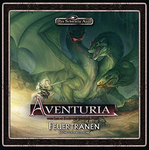 Aventuria - Monstererweiterung Feuertränen (Aventuria / Abenteuerspiel)