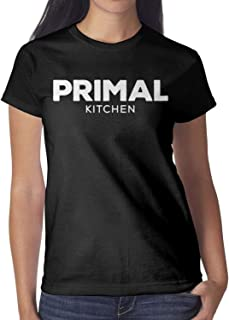 Lyrics Womens New-Primal-Kitchen-Logo-Salad-Dressing-Short Tee Shirt Creative