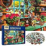 MOOKLIN ROAM Game Puzzle 1000 Pezzi per Adulti, Jigsaw Puzzles Classici Bambini, Puzzle Giocattolo Decompressivo Intellettuale Educativo Divertente Gioco per Famiglie (Gatti)