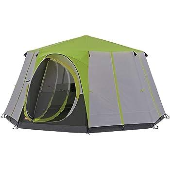Ensemble de tente de camping 2 place style dôme de réglage rapide avec sac de transport pour camping en plein air