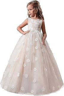 17ec3997fc71a NNJXD Robe de Bal en Mousseline de Soie Maxi Demoiselle d'honneur de mariée  pour