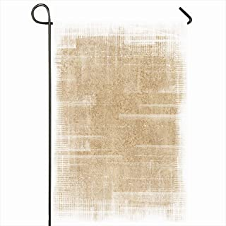 Ahawoso Outdoor Garden Flag 28x40 Inches Taupe Tan News Document Old Antique Abstract Beige Brush Canvas Border Black White Definition Aged Seasonal Home Decor Welcome House Yard Banner Sign Flags