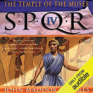 SPQR IV: The Temple of the Muses cover art