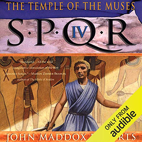 Couverture de SPQR IV: The Temple of the Muses