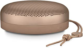 Bang & Olufsen Beoplay A1 Portable Bluetooth Speaker with Microphone, Tan