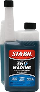 STA-BIL 360 Marine Ethanol Treatment and Fuel Stabilizer - Prevents Corrosion - Helps Clean Fuel System For Improved In-Se...