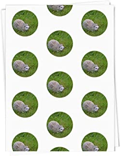 A1 'Ceramic Hedghog On Grass' Gift Wrap / Wrapping Paper Sheet (GI00000307)