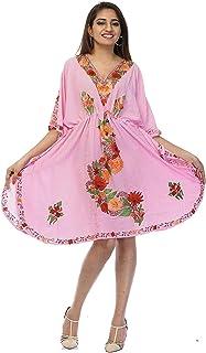 فستان لل نساء مقاس M , متعدد الالوان - فساتين ماكسي